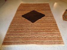 Tibetan rug mid century modern carpet wool hand knotted superb piece vintage 5x7