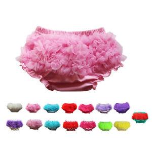 Cute Baby Girl Newborn Ruffle Pants Shorts Bloomers