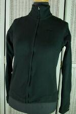 HELLY HANSEN Fleece Black Zip Sweatshirt S 35″ Zip Top Light Midlayer Jacket