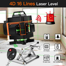 16 Lines 360° Laser Level Self Leveling Green Horizontal Vertical Measuring Tool