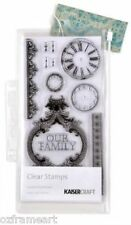 Kaisercraft Clear Empire Collection Acrylic Stamp Scrapbooking Card Making-CS733