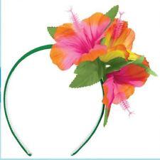 Hibiscus Headband Hawaiian Luau Hula Girl Fancy Dress Party Accessories