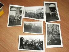 LOT PHOTOS ORIGINALES GÉNÉRAL DE GAULLE A NANCY SEPTEMBRE 1944