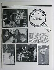 MARY INSTITUTE HIGH SCHOOL BOOKLET FOCUS ON SPIRNG 1983 ST LOUIS MISSOURI LADUE