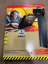 """Pelican Hardback Case with Laptop Liner Designed to protect 14"""" laptops Interior"""