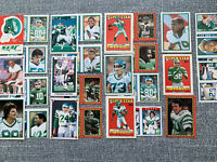 Huge New York Jets Sticker Lot Gastineau Klecko McNeil O'Brien Powell Toon More