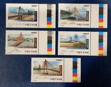Vietnam Mint Cable-Stayed Bridges 2019 Set Of 5 Stamps  VN#1110