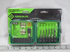 (1) Greenlee DTAPKIT Drill Tap Countersink 6-32 8-32 10-32 10-24 12-24 Free Ship
