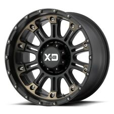20 Inch Black Wheels Rims LIFTED Dodge RAM 2500 3500 XD Series XD829 Hoss 20x12