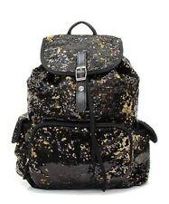 Black/Gold Bling Bling Backpack-NWT