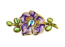 JAY STRONGWATER 2010 FOR ESTEE LARGE FLOWER LARGE SWAROVSKI EMPTY NEW
