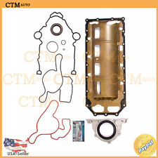 Lower Gasket Set Water Pump Gasket Repair For 03-12 Chrysler Dodge Jeep 5.7L V8