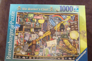 Ravensburger 'The Mariner's Chest' - Colin Thompson (1000 pieces) Complete