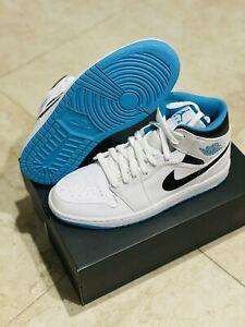 Jordan 1 Mid Laser Blue Sz 10