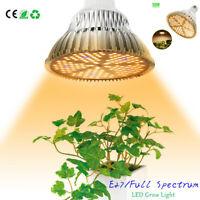 100W E27 LED Grow Light Bulb 150LED Sunlike Warm Full Spectrum Indoor Plant Lamp