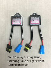 2 x HID XENON ERROR CANCELER CAPACITOR 9V-16V Anti-Flicker 9007 9004 9003 H4