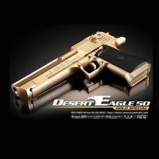 ACADEMY Desert Eagle 50 Gold Special Airsoft Pistol BB Gun Toy 6mm Hand Grips