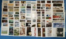 More details for 100 different brand new art postcards by famous artists pc469