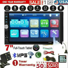 7 Inch DOUBLE 2DIN Car MP5 Player BT Touch Screen Stereo Radio HD & Camera