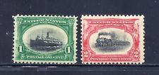 Us Stamps - #294-295 - Mnh - 1+2 cent Pan-American Expo Issues - Cv $77