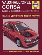 Opel Vauxhal Corsa 2000-2003 Workshop Manual Haynes - Download Link PDF