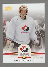 (55195) 2014-15 Upper Deck Team Canada Juniors Brent Moran Glossy #37 (18/25)
