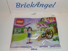 NEW LEGO Friends Emma Mini Figure with Ice Cream Stand 30106 Factory Sealed 2013