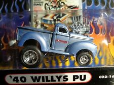 1940 WILLYS PICKUP MOTHERS MUSCLE MACHINES CARTOONS 1/64 NEW IN USED PACKAGE
