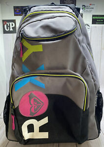 Roxy Backpack With Wheels & Handle RN114199 Style K446B95 4-11 Skater Skating
