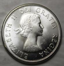 Canada 1962 Silver 50 Cents, Near Gem Brilliant Uncirculated & Lustrous
