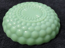 Rare Vintage Anchor Hocking Fire King Jadeite Bubble Bowl 8.5""