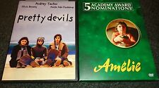 Pretty Devils & Amelie-2 movies-Audrey Tatou becomes con artist, Olivia Bonamy