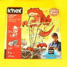 Knex Motorized Roller Coaster T Rex Fury New Build Ride App Construction Toy
