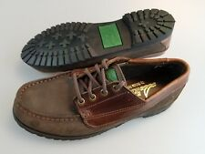 SPERRY TOP SIDER STRIDE RITE Brown Leather Lace Up Casual Dress Shoes Boys 4.5 M