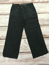 Atmosphere Wide Leg Pure Linen Trousers Size 10