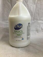 Dial Basics Liquid Hand Soap HypoAllergenic 1 Gallon