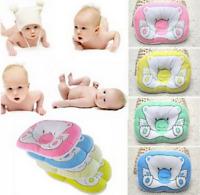 Bear Pattern Pillow Newborn Infant Baby Support Cushion Pad Prevent Flat Head A