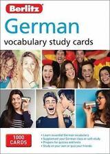 Berlitz Vocabulary Study Cards: German Vocabulary Study Cards by Berlitz...