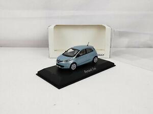 Renault Zoé bleu 1/43 Norev
