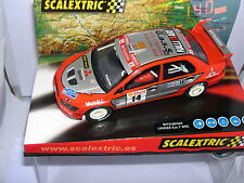 SCALEXTRIC 6121 MITSUBISHI LANCER EVO VII 9º CTO CATALUNYA SLOT 2004 G.A.S.S.