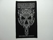 CORROSION OF CONFORMITY   WOVEN  PATCH
