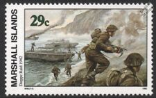 WWII 1942 DIEPPE RAID (Operation Jubilee) Infantry & Landing Craft (LCP) Stamp