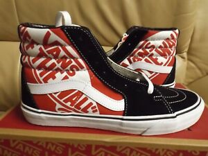 Vans Sk8-Hi (Otw Quarter) Men's Size 7 Shoes Red/Black/True White VN0A4BV6V3T