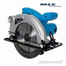 240 V À faire soi-même 1200 W Scie circulaire 185 mm menuiserie construction Silverline S845135