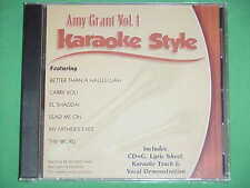 Amy Grant ~ volume #1 ~ Christian Karaoke ~ Daywind ~ Karaoke Style ~ CD+G ~ NEW