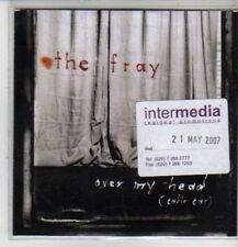(CQ121) The Fray, Over My Head - 2007 DJ CD