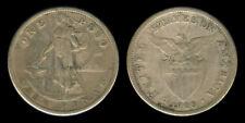 1 Peso 1909-S US Philippine Coin