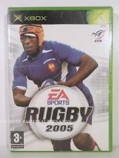 jeu RUGBY 2005 pour XBOX (first gen) en francais spiel juego sport gioco COMPLET