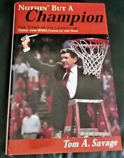 Nothin' But A Champion: The Story of Van Chancellor AUTOGRAPHED WNBA COMETS