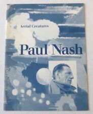 Paul Nash - Aerial Creatures   1996 ART EXHIBITION CATALOGUE